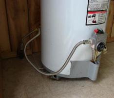 intake line for water heater repaired by our plumber in Lewisville Texas